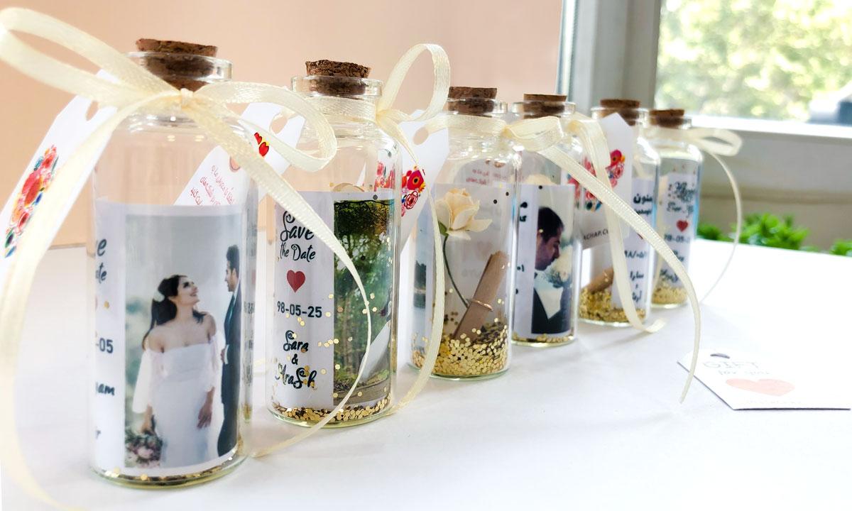 گیفت عروسی - طرح بطری
